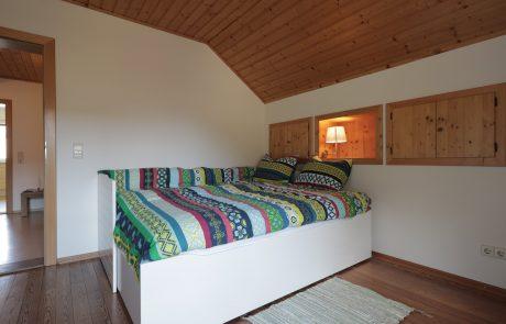 Slaapkamer 2 Topappartement Tom's Hütte